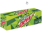 MOUNTAIN DEW, CAN 12/CT